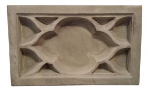 Large Gothic decorative panel